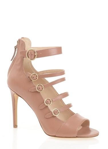 Nine West Hakiki Deri Klasik Ayakkabı Ten